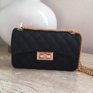 Black & Gold mini handbag new with tag